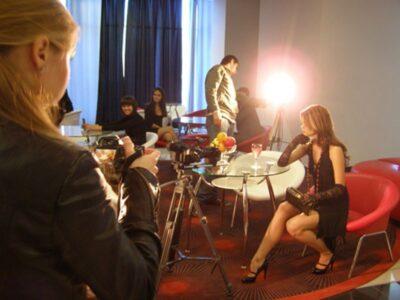 Съемки видео клипа в отеле «Москва»