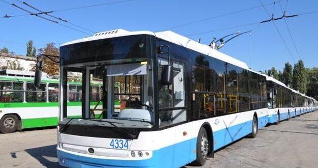 тролейбус Симферополь