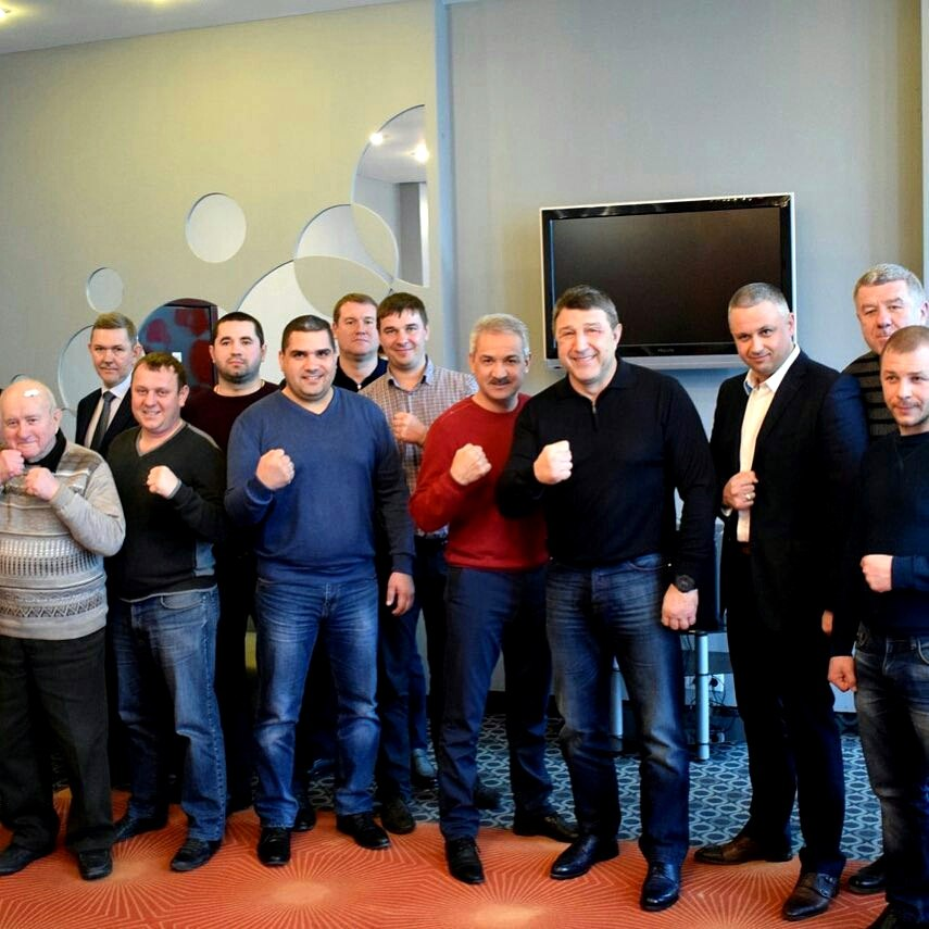 Рабочее заседание президентов Федераций бокса всех городов Крыма