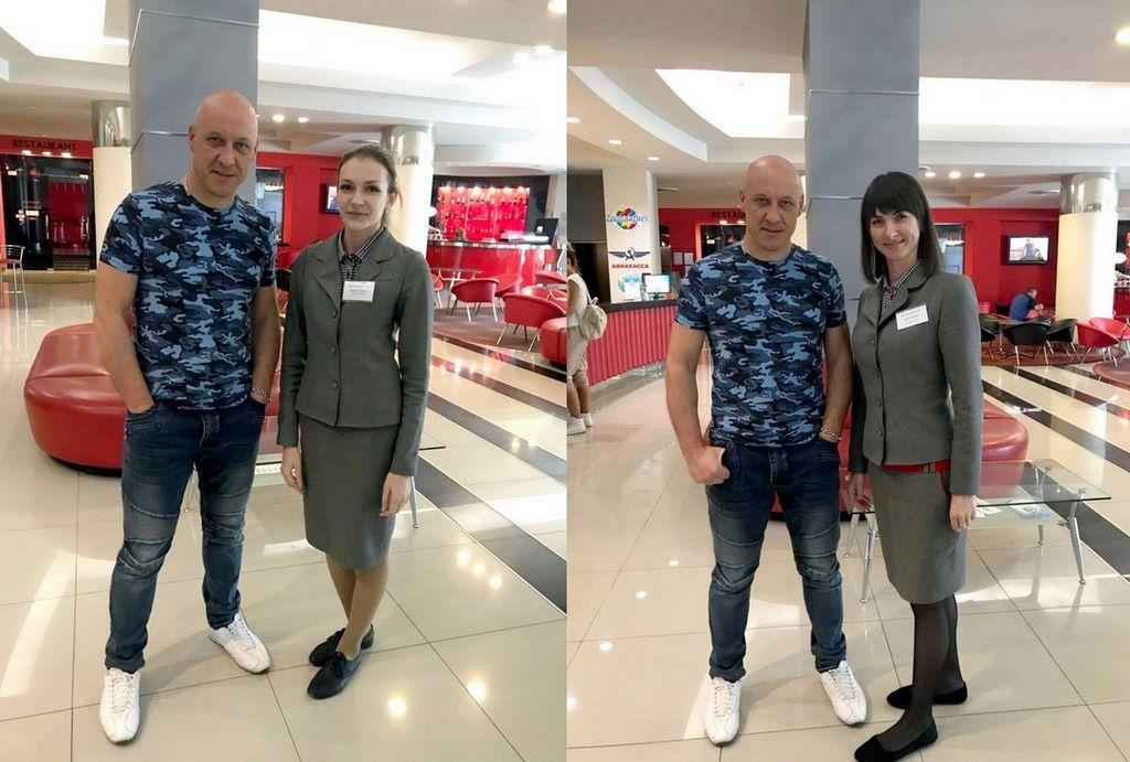 Денис Майданов в гостях отеля «Москва»